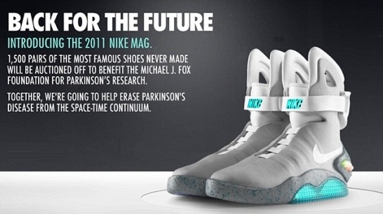 Bids for Back to the Future trainers already top $75,000 - for ONE pair